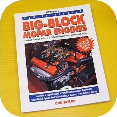 Bb Mopar Engine Performance Book 383 413 426 Hemi 440 !