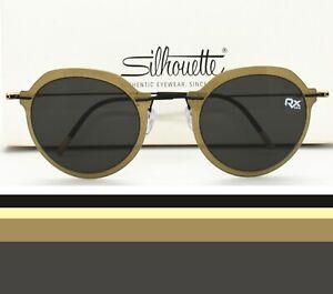 Silhouette Sunglasses Rx-able Eyeglasses frame 8696 75 6560  Prescription Ready