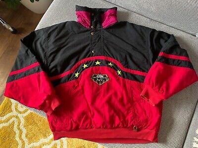 Bogner Windbreaker Vintage Bogner Pullover Vintage Bogner Vintage Half Zipper Hoodie Windbreaker Jacket Size L