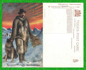 """Vintage A/S  A. Operti  Postcard """"COMMANDER R.E.PEARY, US NAVY"""", Tuck No 9543"""