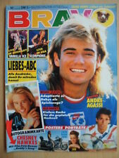 BRAVO 30 - 18.7. 1991 (3) Cover: Andre Agassi Michael Stich Winona Ryder+ Poster