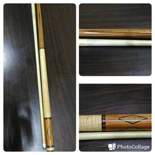 Boriz Billiards Black Leather Grip Pool Cue Stick Majestic  stevenrock88-2012