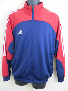 Adidas Casuals Track Mens Stripe Retro Top 3 Jacket Red Tracksuit xrErPqgY