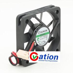 For-SUNON-MagLev-KDE1205PFV2-DC12V-1-1W-50mmx10mm-2wire-FAN