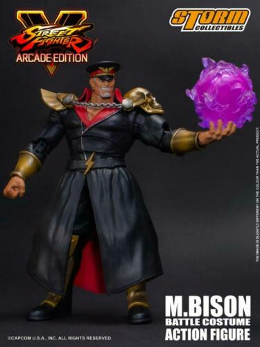 Bison Bataille Costume 1//12 Action Figure Street Fighter V Storm Collectibles M