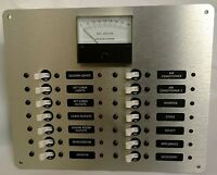 Marine Circuit Breaker Panel Dc Distribution With Analog Dc Volt Meter