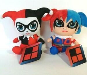 New DC Harley Quinn & Modern Harley Quinn Big Head Licensed Plush Stuff Toys