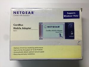NETGEAR NETWORK CARD FA511 DESCARGAR CONTROLADOR