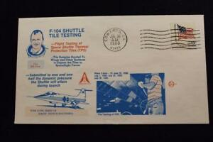 Space-Cover-1980-Macchina-Annullo-Postale-F-104-Shuttle-Tile-Prova-Fase-Due-4