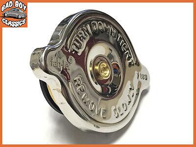 MGB GT Stainless Steel 15 lb//psi Radiator Cap Fits MGB Midget