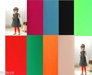 Children-40-Denier-Tights-age-from-3-to-14-years-pink-black-green-red-turquoise