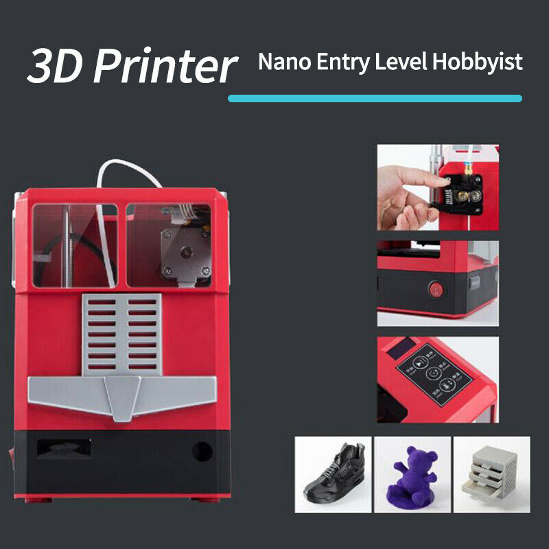 3D Printer Print Size 100x100x100mm Nano Entry Level Hobbyist CR-100 Compact
