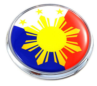 Uruguay Flag Car Chrome Emblem Decal Sticker Crest Badge 3D Badge