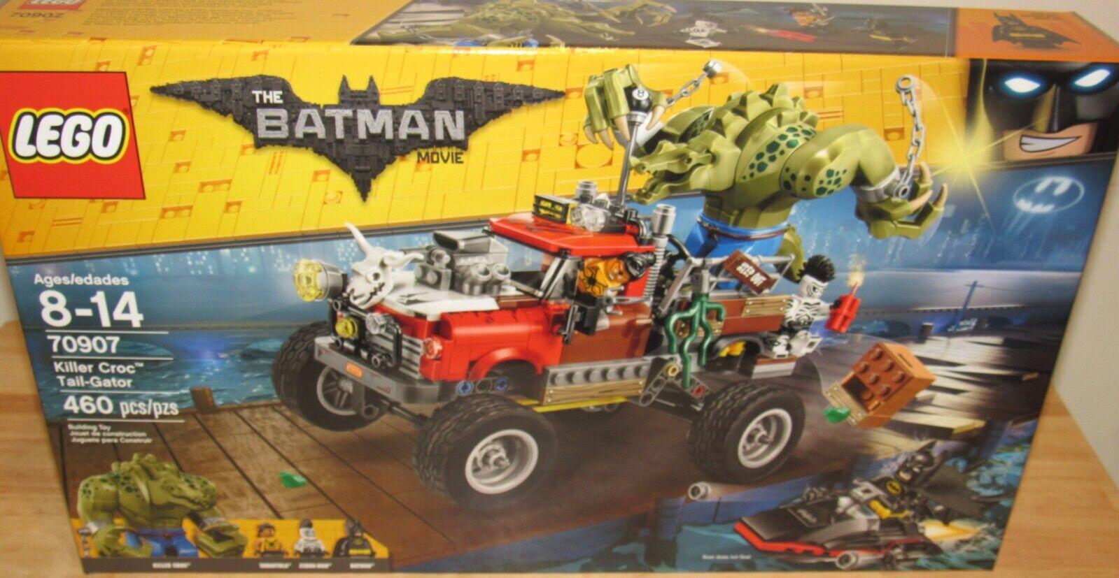 vendita online LEGO Batuomo Batuomo Batuomo Movie Killer Croc Tail-Gator 70907 NIB SEALED Zebra uomo Tarantula  Ultimo 2018