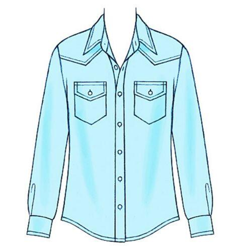 Mccalls patrones de corte m6044-camisas-breve /& mangas largas