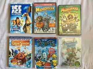 Details about Lot NEW Flushed Away ROBOTS MADAGASCAR 1 2 TARGET Exclusive  DVD ~ See picture RL