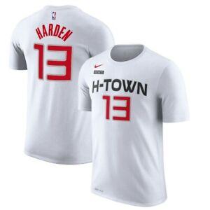 Nike-Mens-James-Harden-Houston-Rockets-City-Edition-H-Town-T-Shirt-Tee-XL-NEW