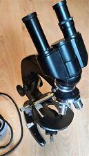 Lomo Microscope Mbr 3 With Lomo Binocular Au 12 Made In Ussr
