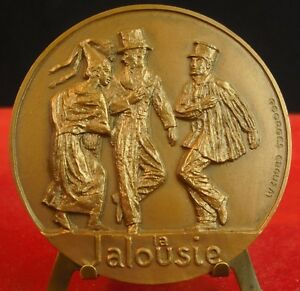 Medaglia-Dance-la-Jalousie-Normandia-Caen-st-lo-da-G-Crouzat-Medal
