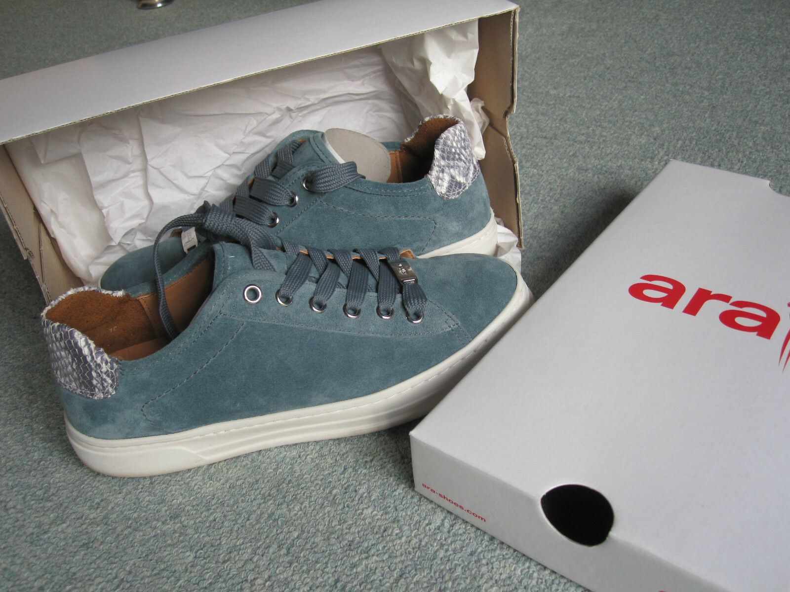 NEUwertig: Sneaker Gr.37,5 H -ara- sportlich - 1x kurz getragen -1A