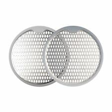 2PCS Stainless Steel Shower Drain Hair Catcher Trap Mesh Grips Drain Protector
