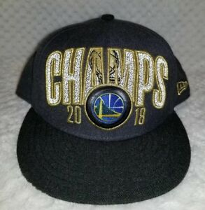 f2ceee7d5e4ea Image is loading GOLDEN-STATE-WARRIORS-2018-CHAMPIONSHIP-HAT-CAP-CHAMPIONS-