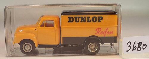Brekina 1//87 35201 Opel Blitz camiones recuadro Dunlop Neumáticos OVP #3680