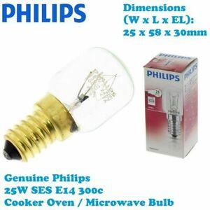 Micromark-Genuine-Philips-Cooker-Oven-Microwave-300c-Stove-Lamp-Bulb-25W-E14