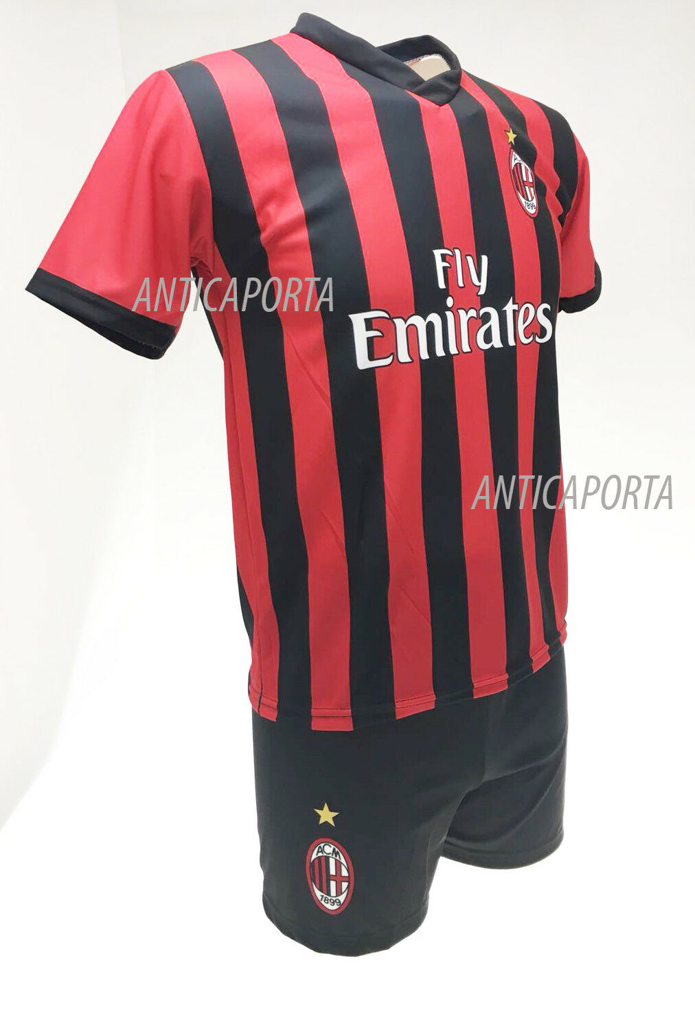 Completo Paquetá Milan 19 Oficial Camiseta Camiseta Camiseta Pantalones cortos 18 numero 39 6756fb