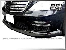 CS Style Carbon Fiber Front Lip for 10-13 Benz W221 S63 S65 AMG Facelift