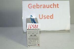 Seidel-Modemumschalter-Ms-200-Modem-Interrupteur-MS200