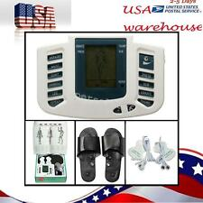 Digital Stimulator Massager Full Body Relax Pulse Acupuncture Therapy Slipper m