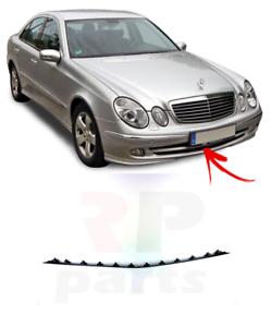 Neuf Mercedes Benz W211 Avantgarde Pare-Chocs avant Centre Grille Inférieure
