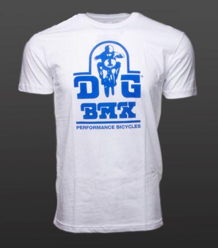 DG BMX Logo DGBMX White DG BMX Size:  XL T Shirt Authentic