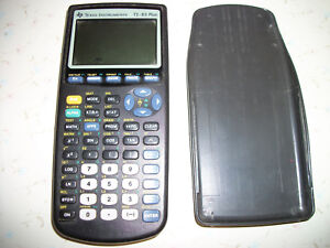 Details about TI 83 Plus Black Scientific Graphing Calculator SMALL BLEMISH  ON SCREEN Texas In