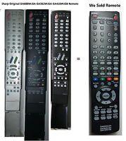 Sharp Aquos Ga416wjsb Replace Remote For Lcd Tv mint Lc40c37u Lc40c45u Lc60c46