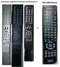 "SHARP AQUOS GA416WJSB Replace REMOTE for LCD TV ""MINT"" LC40C37U LC40C45U LC60C46"