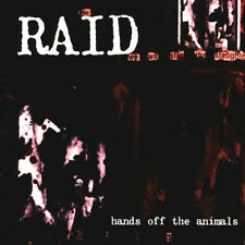 RAID Hands off the animal CD (1995 Victory Records) Neu!