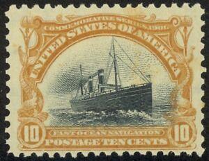 299-10c-Pan-American-Detailed-Mint-NH-Single