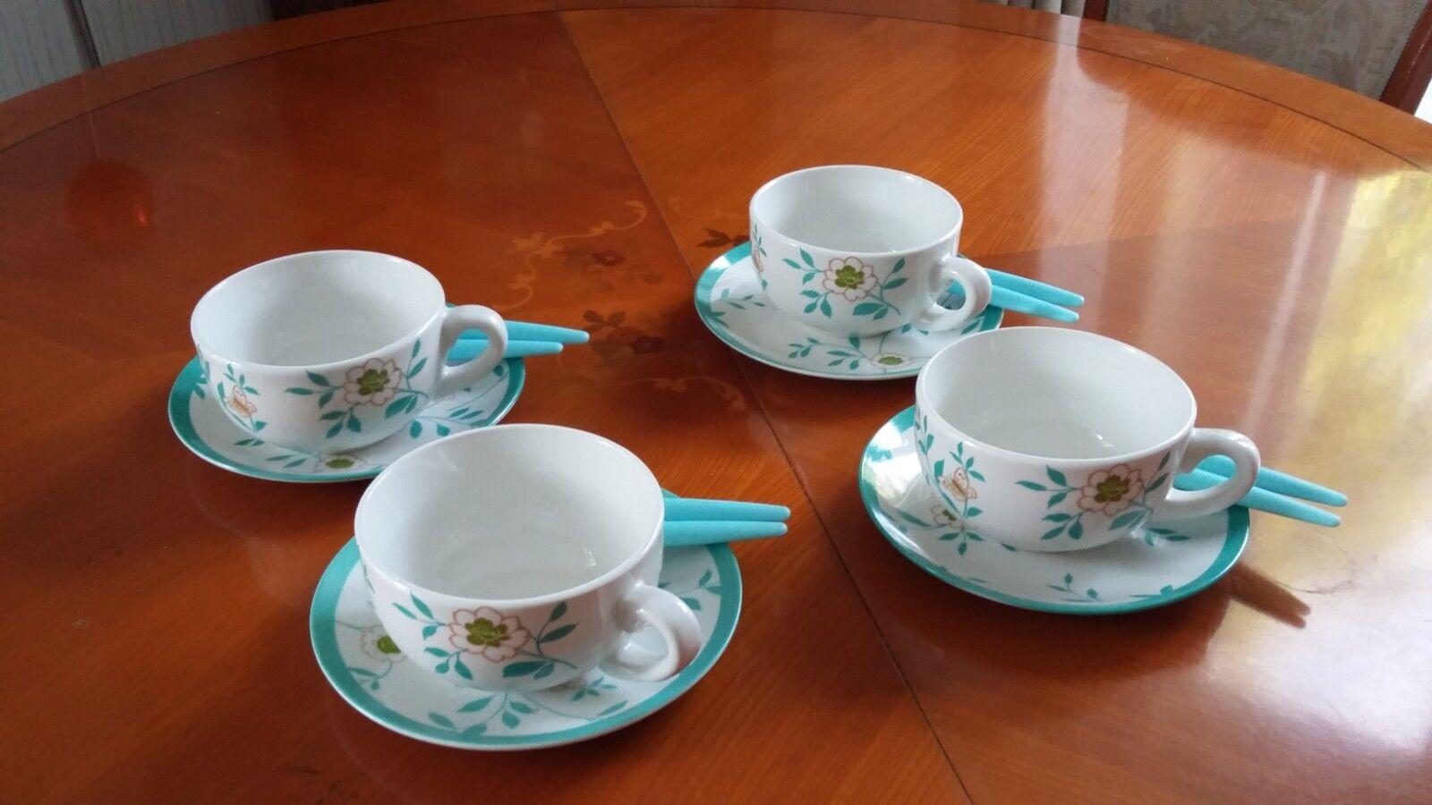 Laura Ashley  pour 3 suisses  café thé set de 16 pièces