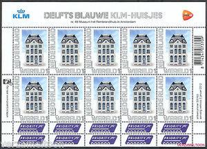 NVPH-V-2899-PERSOONLIJKE-POSTZEGELS-2012-DELFTS-BLAUW-KLM-HUISJES-WERELD-vel