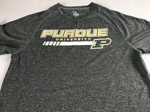 Purdue-Boilermakers-Shirt-Mens-SZ-S-M-Dri-Fit-Athletic-University-Alumni-Student