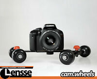 Cam Wheels Camera Dolly Smooth Video Steady-cam