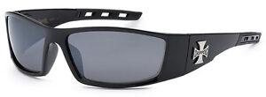 Choppers-Mens-Cross-Logo-UV-Protection-Sunglasses-Free-Pouch-Black-C50