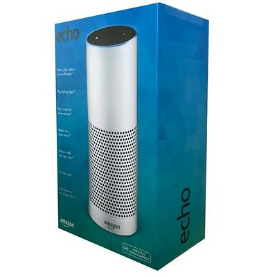 AMAZON Echo 1.Generation Weiss, kompatibel mit Amazon Alexa NEU OVP