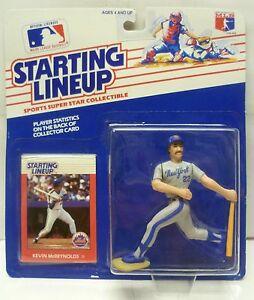 1988 KEVIN McREYNOLDS - Starting Lineup - SLU - Sports Figurine - N.Y. METS