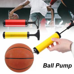 Balloon Hand Air Pump Soccer Football With Needle Inflating Adaptor Ball Pump