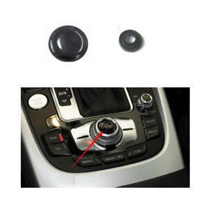 Joystick Center Button Cover MMI Knob Repair Kit with 2 Seal Ring for Audi A4 A5 A6 Q5 Q7 S5 S6. Joystick Knob