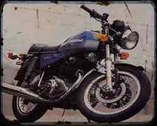 Ducati 500Gtl 77 A4 Photo Print Motorbike Vintage Aged
