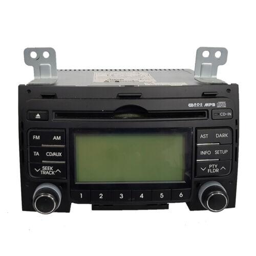 Radio CD mp3 hyundai i30 96160-2l200 961602l200 garantía 24 meses de